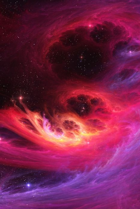 paw prints in the sky! astronomy, outer space, space, universe, stars, nebulas