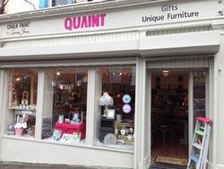 Quaint is in Drogheda selling floral country style home accessories.