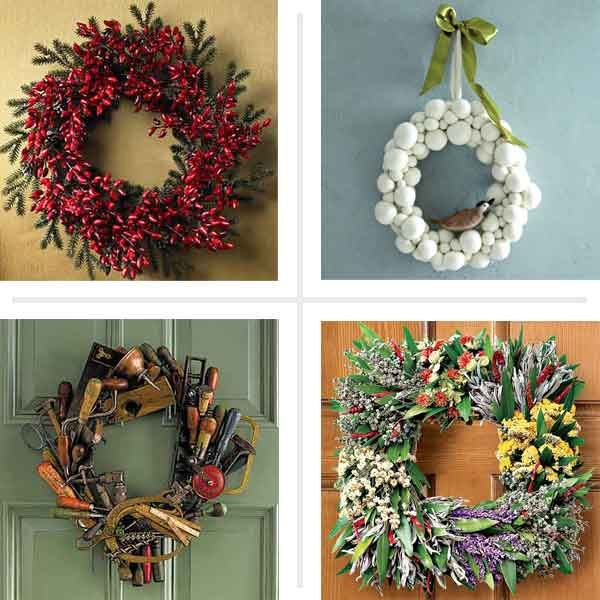 Creative Wreath Ideas: Creative Ideas For DIY Wreaths