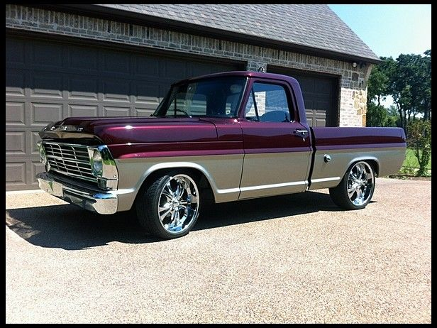 T268.1 1968 Ford F100 Pickup 390/350 HP, Automatic Photo 1
