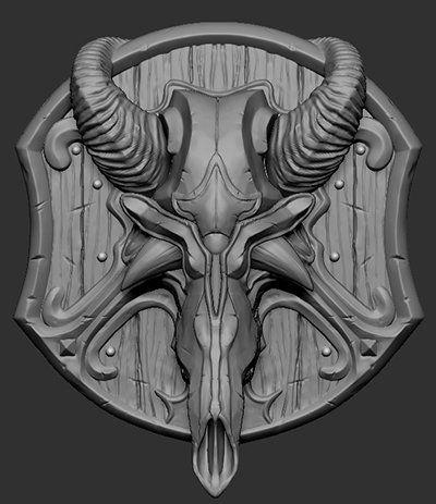Shield, Bell Wu on ArtStation at https://www.artstation.com/artwork/dragon-shield-07a3521b-ae4f-40dd-9c45-448c82954fdb
