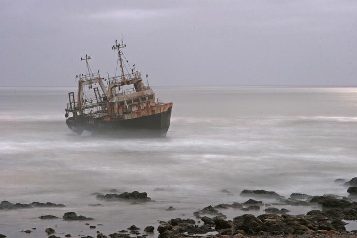 Wreck, Swakopmund, Namibia