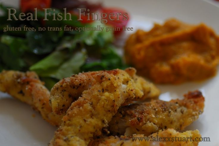 Real Fish Fingers