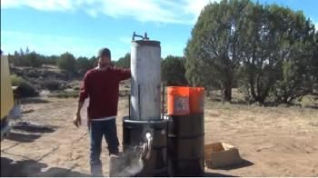This is a step by step video on how to build a Wood Gasifier for your truck, car or generator.This truck can run on trash,wood, grass, cow dung and just about every other dry organic material.viaYoutube
