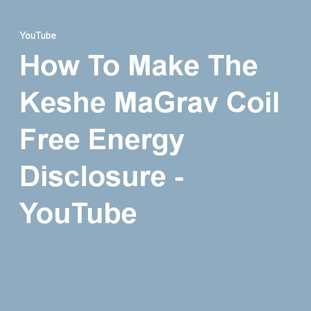How To Make The Keshe MaGrav Coil Free Energy Disclosure - YouTube パイプと電動ドライバーでコイルを作る