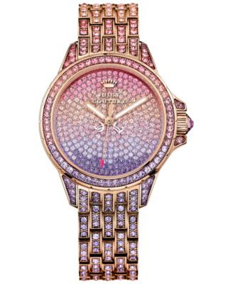 Nice Ombre Concept - Juicy Couture Women's Rose Gold-Tone Bracelet Watch 36mm 1901167