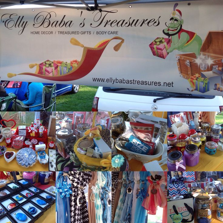 Elly Baba's Treasures at Narrabeen Car Boot Sale Markets. What a super day it was today the sun was shining, I made some money, and even picked up Drill for myself. All round a happy day had by all. Next Markets is Gordon Markets on the 13th September.  Hope to see you there!