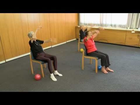 ▶ Senior Fitness - 98 year old keep fit teacher - Lesson 2 - YouTube
