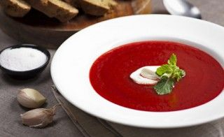 Rote-Bete Suppe - Cremig