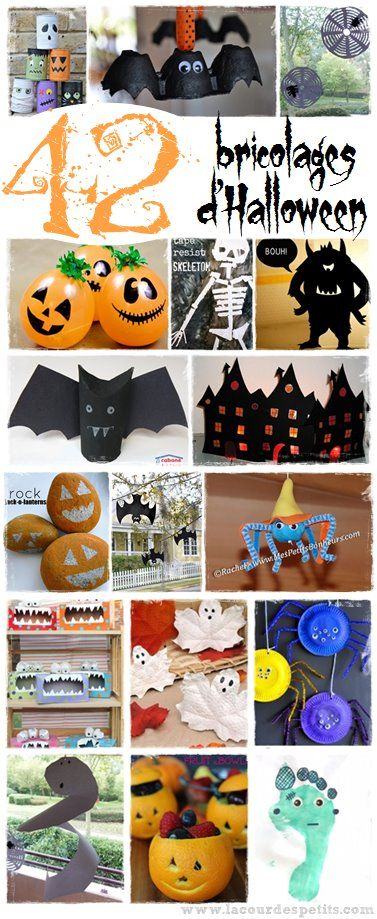 1000 ideas about bricolage halloween on pinterest bricolage halloween facile sorciere and. Black Bedroom Furniture Sets. Home Design Ideas