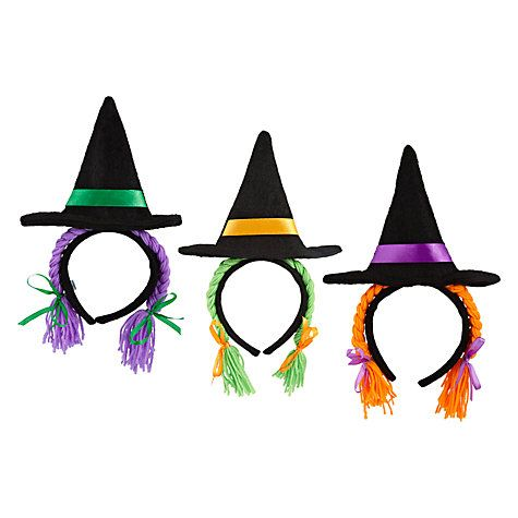 All Hallow's Eve: Witches with Plaits Headband #johnlewis #halloween