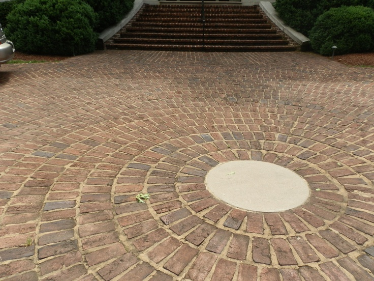 Tryon Handmade Pavers on Terrace in Nashville.