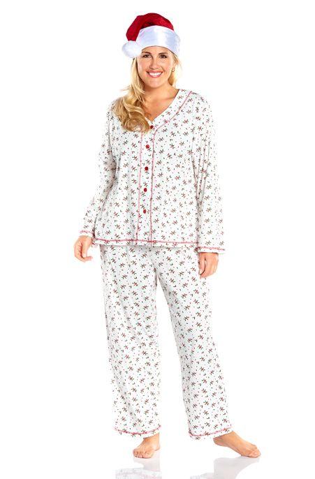 Christmas Pajamas Plus Size Breeze Clothing