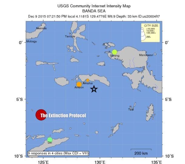 Strong 6.9 magnitude earthquake jolts Indonesia | EndTime ...