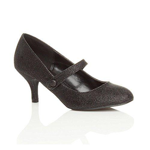 Damen Hoher Absatz Mary Jane Formal Abend Party Ball Pumps Schuhe Größe 8 41 - http://on-line-kaufen.de/ajvani/41-eu-8-uk-damen-hoher-absatz-mary-jane-formal-abend