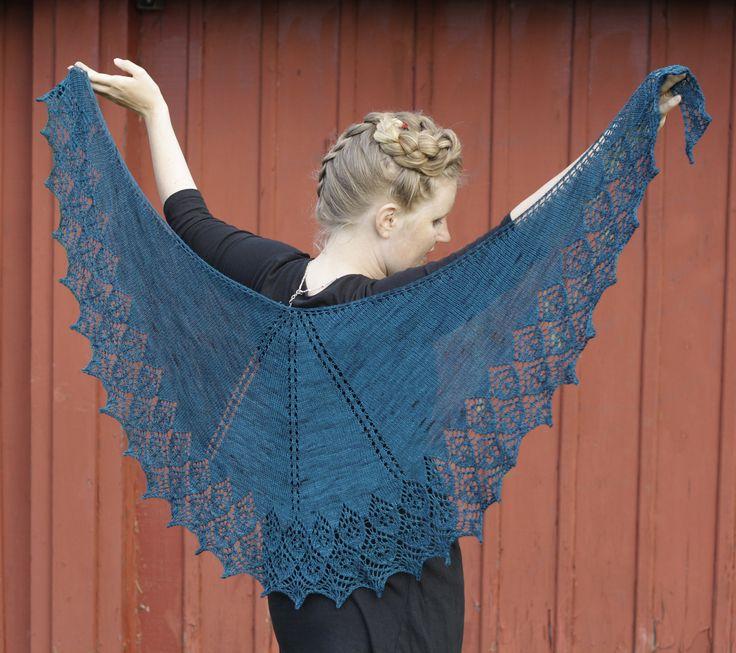 Mejores 33 imágenes de Jonesy shawl en Pinterest | Punto de crochet ...
