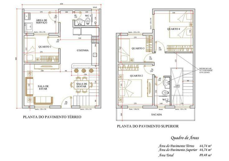 Casa de 1 andar com 4 quartos