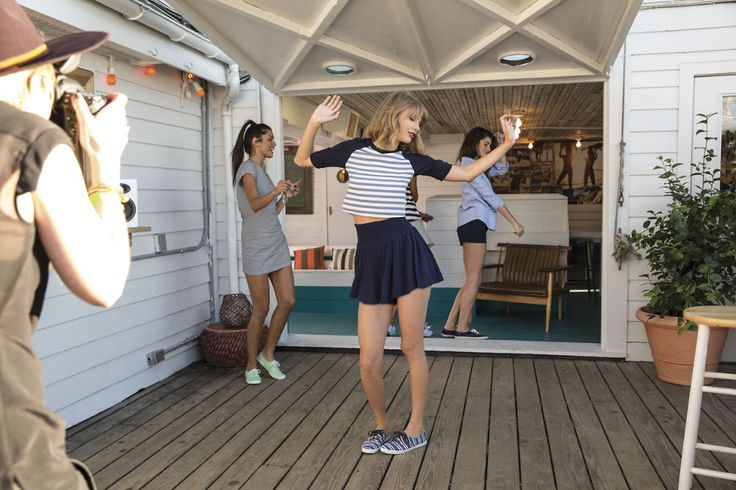 Taylor Swift - Keds Photoshoot 2015