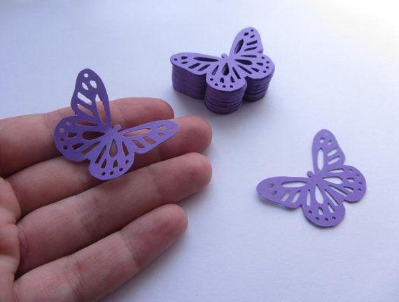 Paper butterflies 50 die cut butterflies die cuts by MurisAndAJ