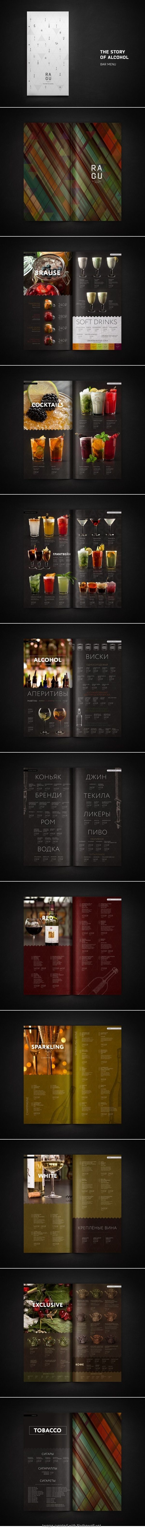 Ragu identity menu