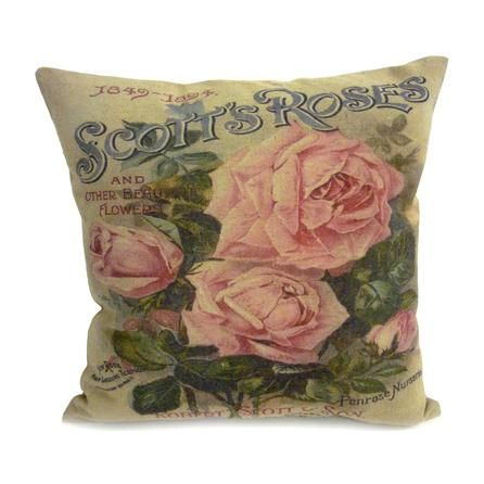 Vintage Rose Cushion #PinItToWinIt #Dunelm