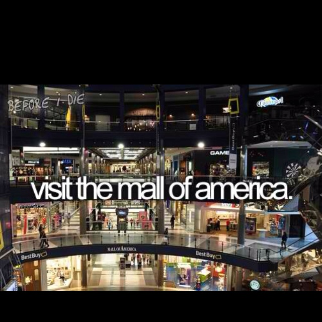 Hey I've been here when i was like 6 soo awesome wld love to go bk u actually need like a wk to shops there it's crazy huge!!!!