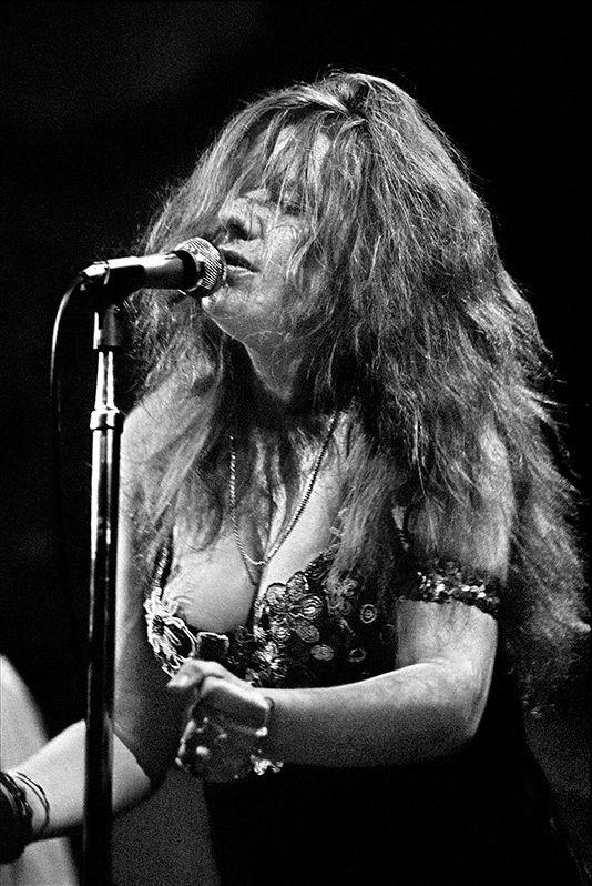 Janis Joplin by Elliott Landy.
