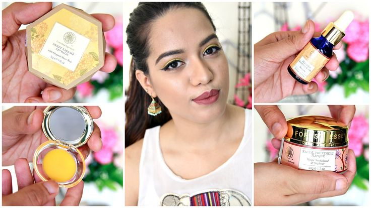 """I enjoy Forest Essentials products a lot and I picked up some new one from Nykaa recently and here's the haul. You can watch my previous forest essentials haul here: https://www.youtube.com/watch?v=dt6d96TW0qY  Let's chat in the comments xx DON'T FORGET TO SUBSCRIBE & CLICK """"SHOW MORE""""   About Me: I am Debasree a beauty vlogger at  http://www.youtube.com/c/debasreebanerjee  and blogger at http://ift.tt/1RRR0WF You can holler me anytime @debasreee on my Instagram and Twitter.  Stalk me here…"""