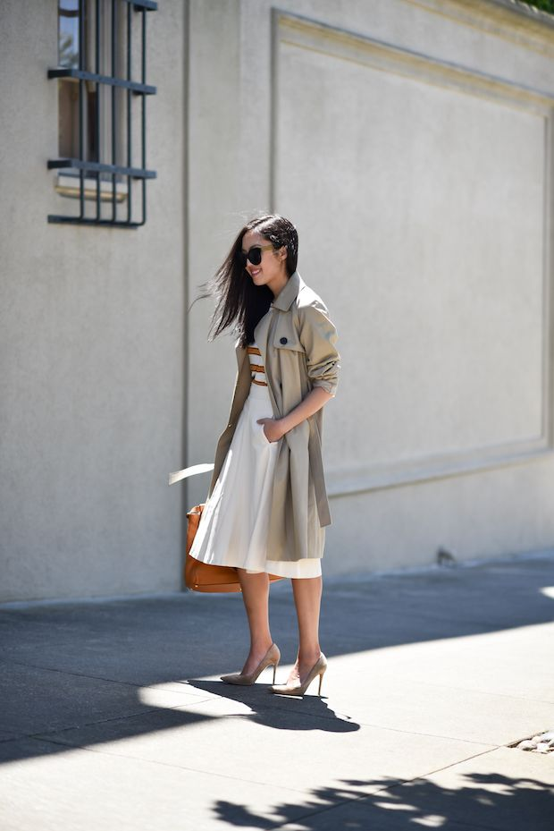 Good morning and happy Thursday! Sharing a recent trench find under $150 – and I'm pretty sure it's one of the best versions out there at this price range. Three more great options under $150: This one by Topshop is well under $150 and I love the oversized cut and detail at the sleeve. This …