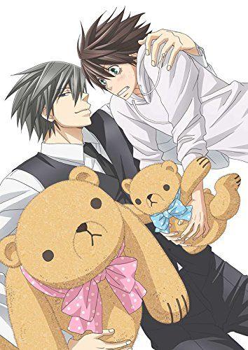Ah cute promo pic for Junjou Romantica 3 Blu-ray edition