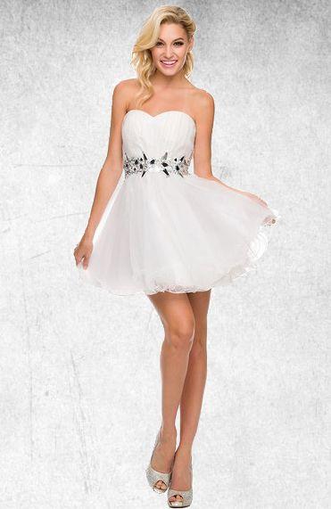 # Classy Mini Short Prom Dress #promdresses  #vestidode15corto