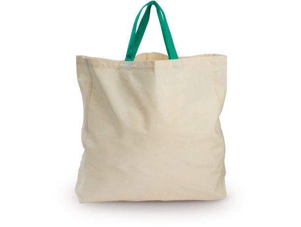 Bolsa aloe algodon organico personalizada