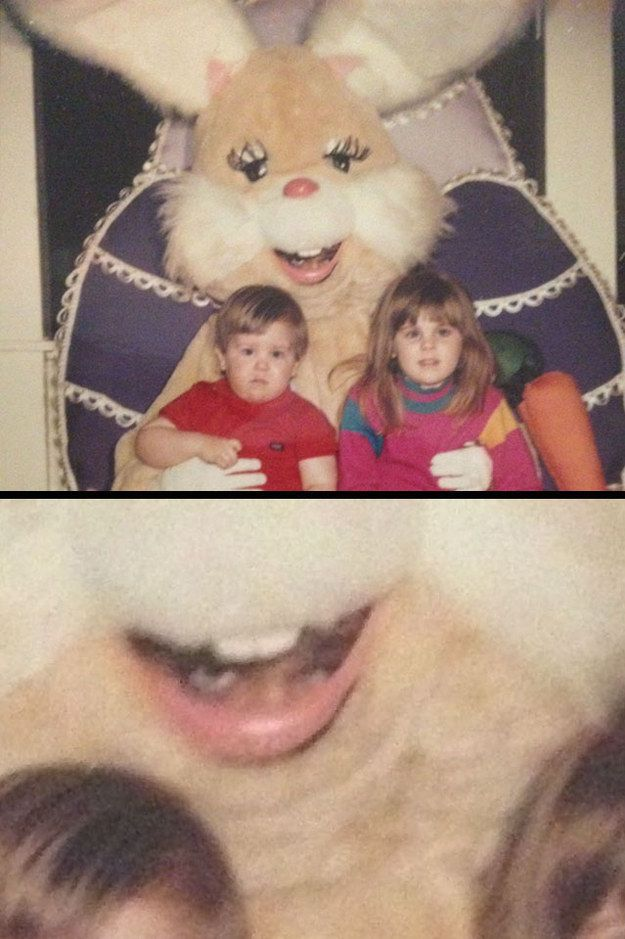Easter is over but the creepy feels live on.
