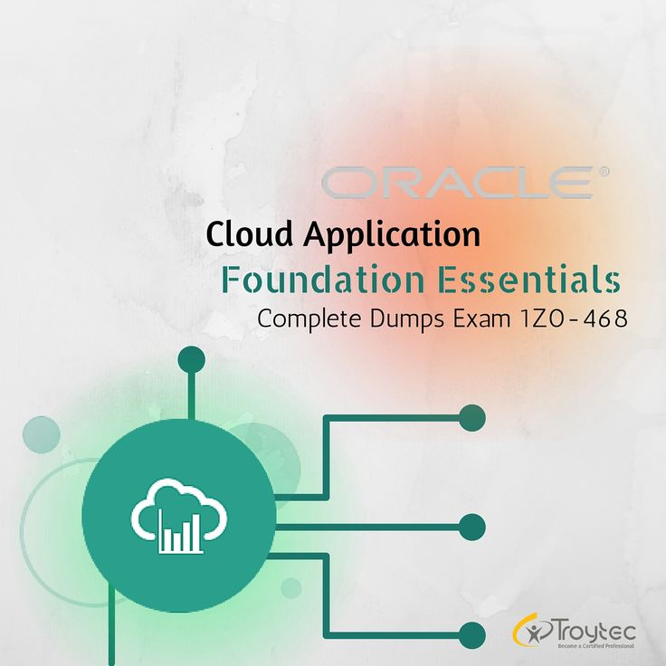 #Oracle #CloudApplicationFoundation Essentials Exam #1Z0_468