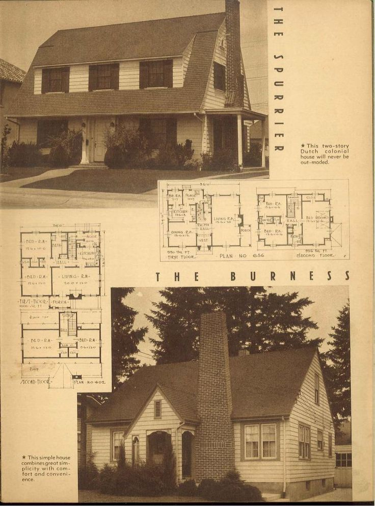 1000 images about vintage house plans 1940s on pinterest for 1940 house plans