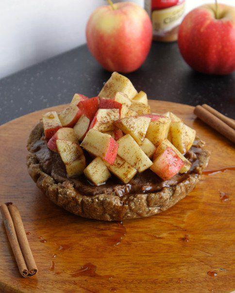 """Коричный """"чизкейк"""" с яблоком   Худей вкусно"""