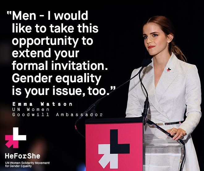 HeForShe ~this 2014 Pledge is for men in the support of women for the dignify of everyone. It's a United Nations initiative, a global campaign to not only raise awareness about gender bias & violence against women, but to educate, facilitate & activate real changes to men's behavior. We call on all levels of government & cultures worldwide to establish new equitable laws & restructure socioeconomic & educational institutions eliminating violence & guaranteeing the rights of all women…