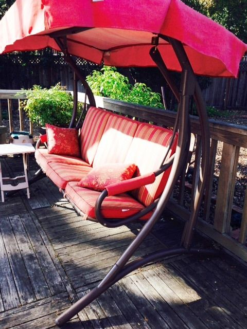 Orchard Supply Hardware 3 Person Patio Swing Replacement Canopy And  Cushions Available