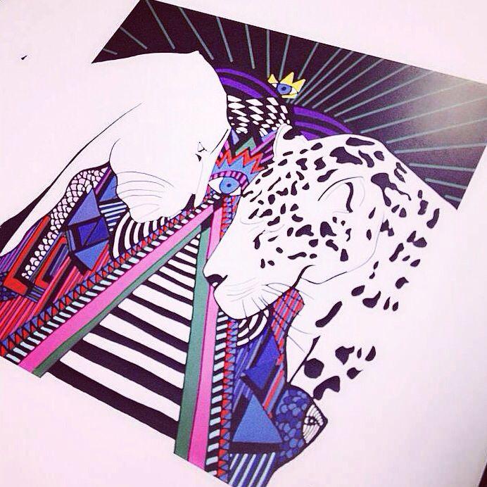 Gardien du savoir #illustrations #juliagrita #mirror #love #destiny