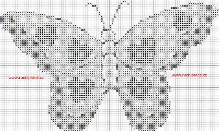 Free Butterfly Cross Stitch Patterns   ... is a downloadable free pattern cross stitch - JPG file - BUTTERFLY