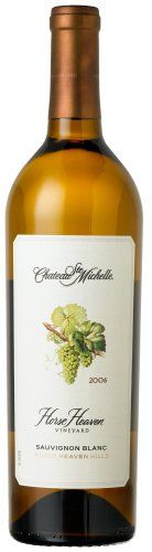 White Wine - Chateau Ste Michelle Horse Heaven Vineyard Sauvignon Blanc 750 mL >>> Read more reviews of the product by visiting the link on the image.