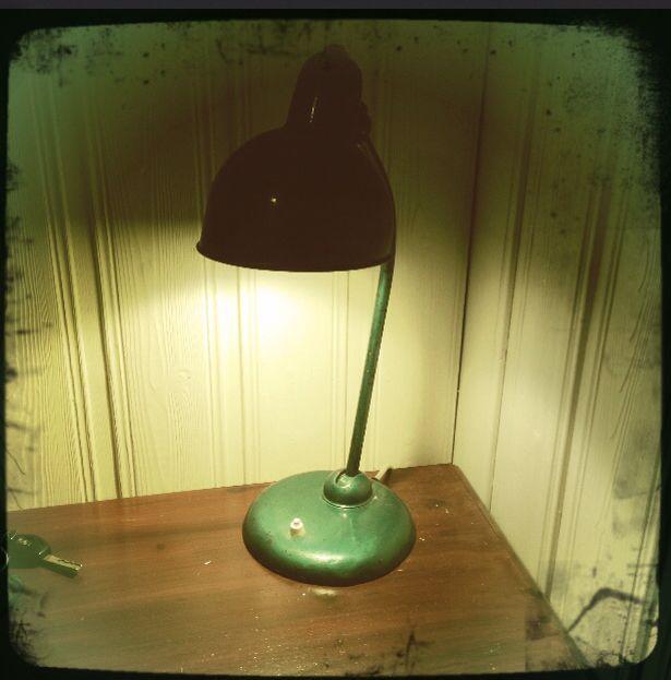 Original Kaiser Idell Table Lamp Model 6556.