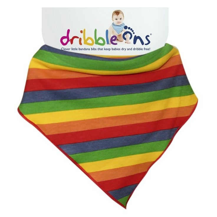 Dribble Ons Designer Dribble on Rainbow