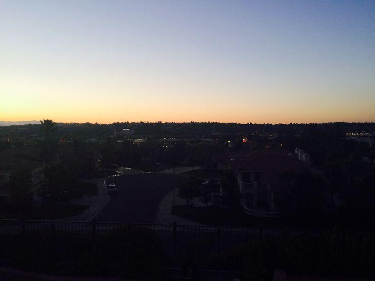 Beautiful sunset tonight ❤️️😍
