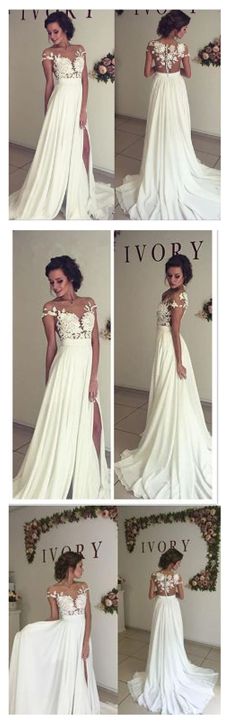 Wedding dresses for a beach wedding   best Cheap Wedding Dresses images on Pinterest  Short wedding