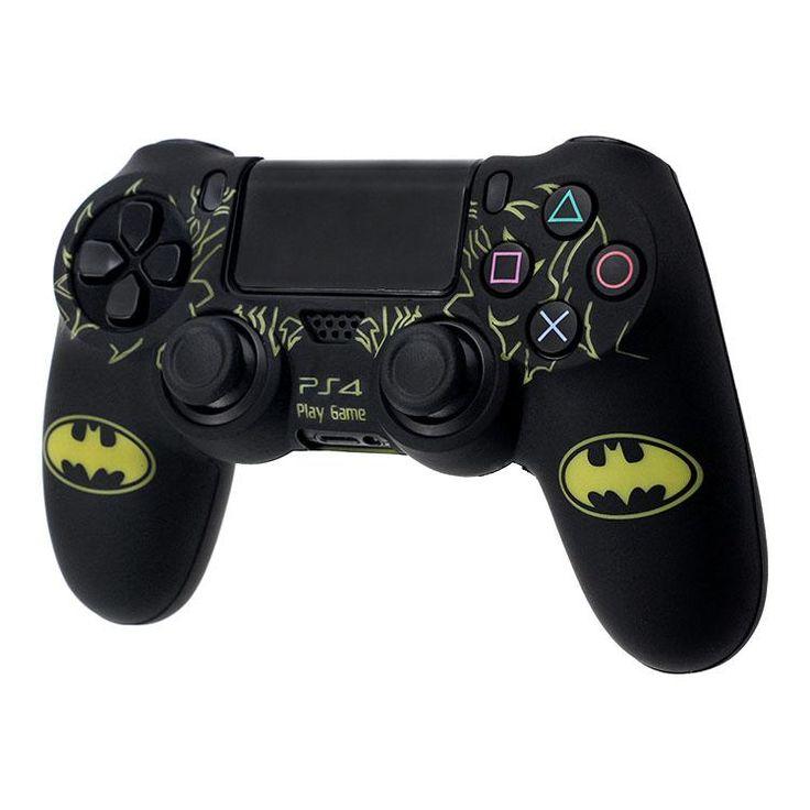 Batman Ps4 controller case silicon cover