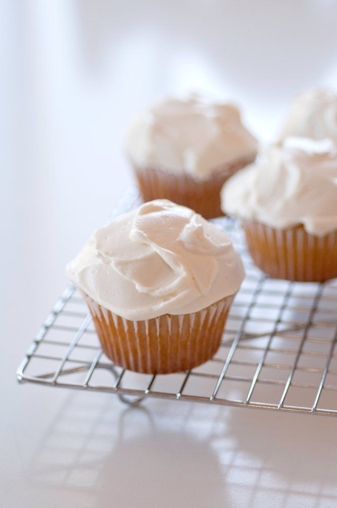 Whipped Yogurt Buttercream Frosting - You're Going to Want to Put This Frosting on Everything