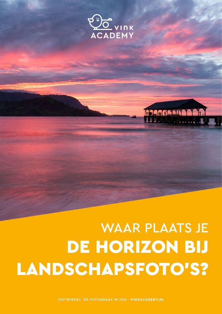 Fotografeer je een situatie met een duidelijke horizon in beeld? Bijvoorbeeld een landschapsfoto op het strand of van een uitgestrekte Nederlandse polder? In dit artikel lees je vier tips waar je dan op moet letten, zoals de plaatsing van de horizon.