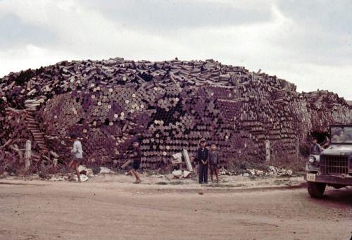 History+War+Vietnam+Artillery+Shell Dump+Qui Nhon