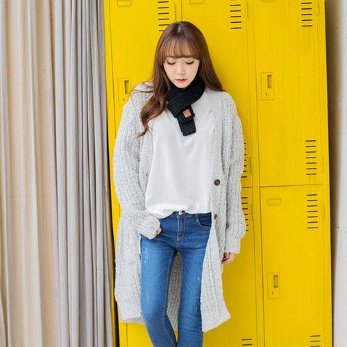 Womens Clothing Store [VANILLAMINT] Alix Cardigan / Size : FREE / Price : 62.17 USD #dailyllook #dailyfashion #fashionitem #ootd #outer #outwear #cardigan #knit #longcardigan #vanillamint http://en.vanillamint.net/